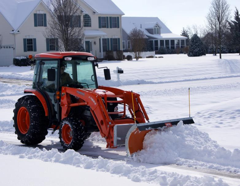 Skid Steer on tractor